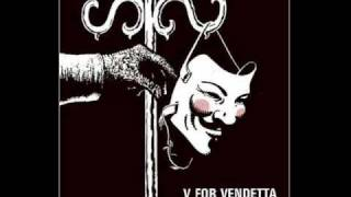 V For Vendetta (David J) - This Vicious Cabaret - 12'' - 1984