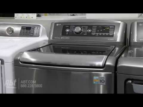 LG Top Load Steam Washer WT5680HV Overview