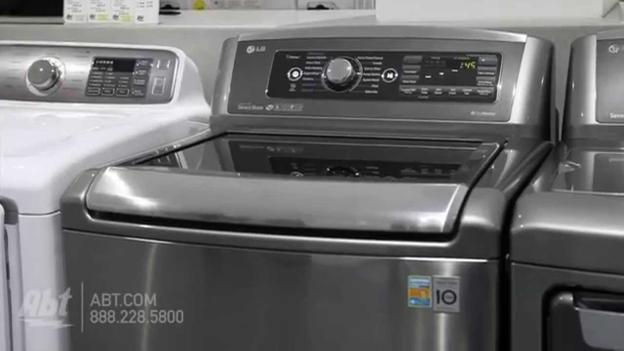 LG Top Load Steam Washer WTHV Overview YouTube - Abt washers