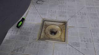 욕실하수구청소 욕실하수구 막힘 막혔을때 뚫는방법