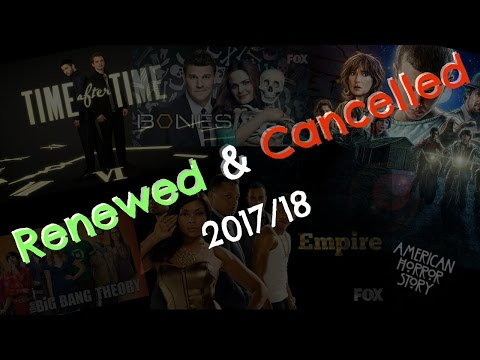 Renewed & Cancelled TV Series: 2017/18