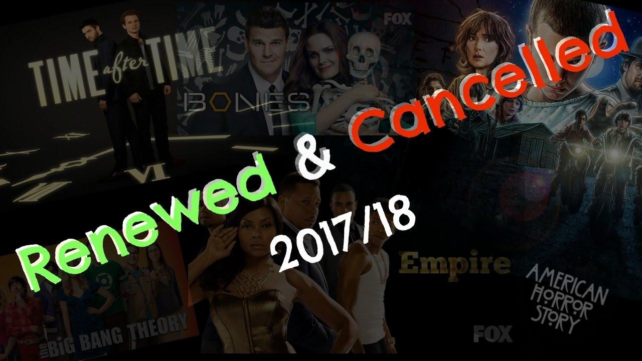 renewed cancelled tv series 2017 18 youtube. Black Bedroom Furniture Sets. Home Design Ideas