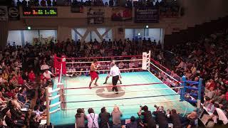 2017.11.3 東日本新人王フェザー級決勝 佐々木蓮vs清田亨