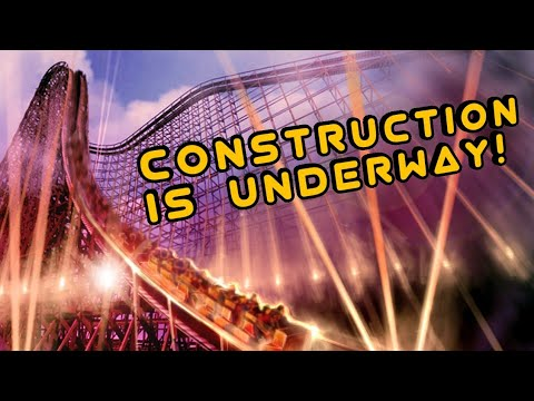 Dubai Parks and Resorts Is Building A New Wooden Coaster Inside Bollywood Park!