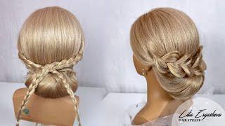 Свадебная прическа на длинные волосы Женские прически 2020