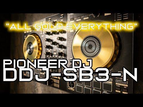 Pioneer DJ  DDJ-SB3-N - Gold DJ Controller
