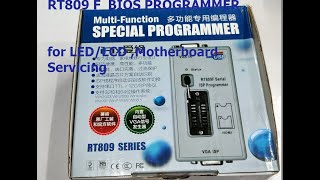 RT809F BIOS PROGRAMMER for LED/LCD TV & Motherboard Service