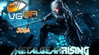 vgBR Joga - Metal Gear Rising: Revengeance Stage 5 Gameplay Sundowner