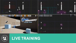 Unreal Tournament: Building a Map from Scratch | Live Training | Unreal Engine