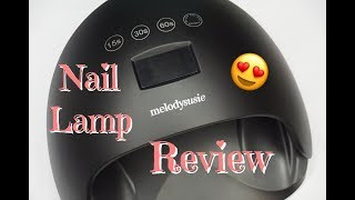 MelodySusie Pro 48 Watt UV/LED | Lamp Review |2018| DivaDollFlawless