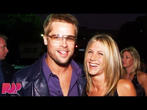 Why You're So OBSESSED With Jennifer Aniston And Brad Pitt