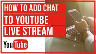 How To Add Chat In YouTube Live Stream With OBS Studio