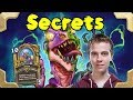 Thijs with a Secret hunter deck in legend  (Rastakhan's Rumble)