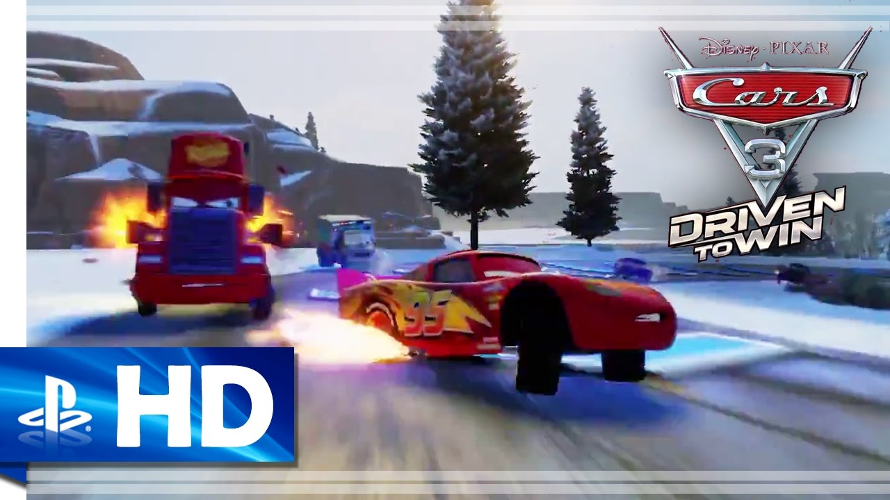 Cars 3 Driven To Win 2017 Official Gameplay Trailer Ps4 Ps3