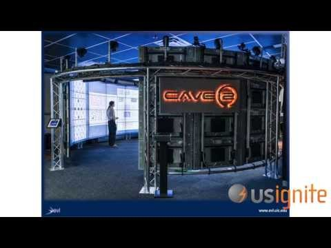 UIC Electronic Visualization Laboratory  - CAVE2  (Application Summit 2013)