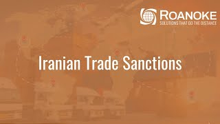 Iranian Trade Sanctions