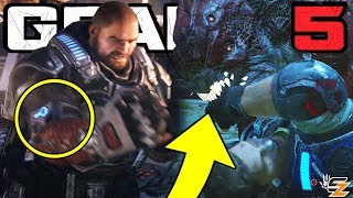 Gears of War 5 - What has happened to JD Fenix Arm!? Swarm Infection!? (Gears 5 Discussion)