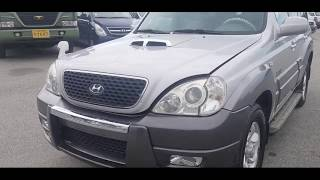 Hyundai Terracan(2004) Jx290 / Roof-box