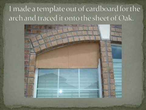 Diy Solar Screens For Arched Windows