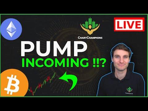 📈BTC + ADA pumps to continue?! Bitcoin + Ethereum Technical Analysis live price.