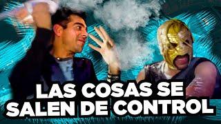 Omar Chaparro y Súper Escorpión Al Volante