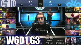 TSM vs Cloud 9 | Week 6 Day 1 S6 NA LCS Spring 2016 | Team Solomid TSM vs C9 G2 W6D1