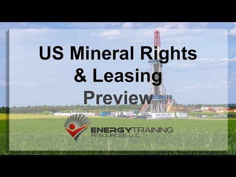 US MIneral Rights and Leasing