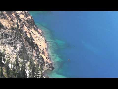 Mystery Boat in Crater Lake