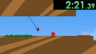 So I tried speedrunning Red Ball and it broke me.