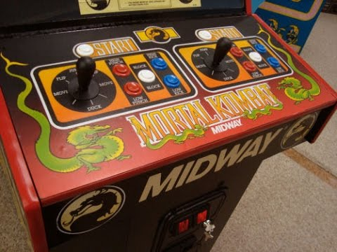 Midway's classic MORTAL KOMBAT Arcade Game - Artwork, Overview, Cabinet  Design   Gameplay Video