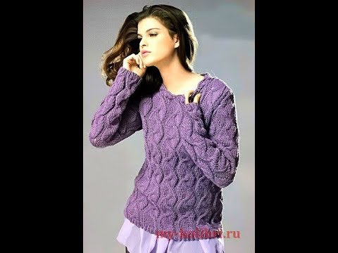 Свитера, Связанные Спицами - фото - 2019 / Knitting Knit Sweaters / Strickpullover