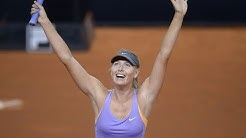 WTA Moments: Maria Sharapova's Stuttgart treble