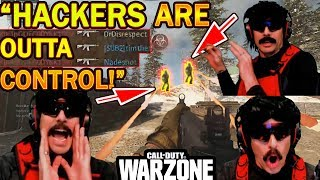DrDisrespect's ENTIRE SQUAD Wiped by AIMBOT HACKERS in COD Warzone + A Message To Activision!