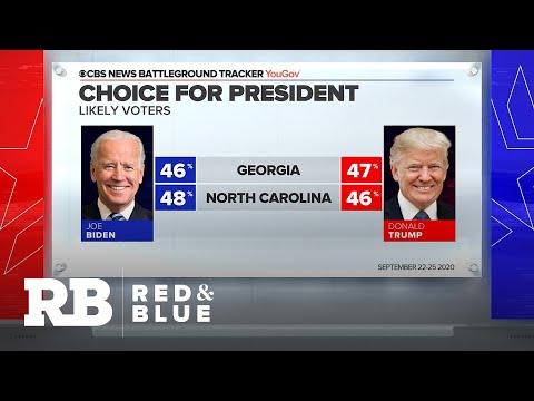 Presidential race tightening in Georgia and North Carolina