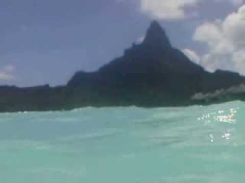 In the  water, Intercontinental Bora Bora, French Polynesia Cruise 2013 427