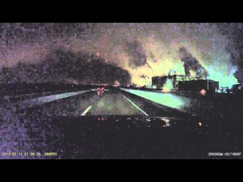 Night Drive from Cedar Rapids to Iowa City