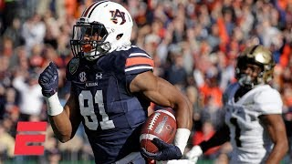 Auburn scores record 56 1st-half points vs. Purdue in Music City Bowl | College Football Highlights