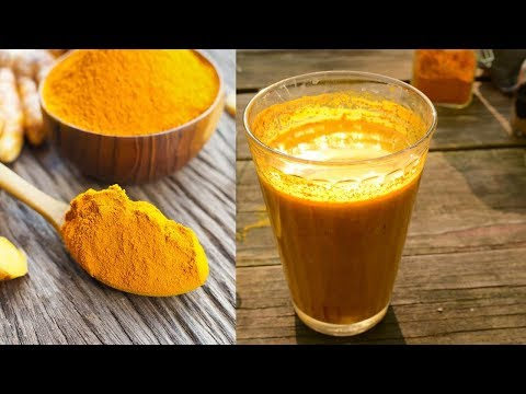 Coconut Milk And Turmeric Recipe To Detox Organs And Fight Inflammation Fast and Natural