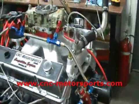 SB Chevy 383 Stroker Race Engine 620 HP 536 TQ Dyno
