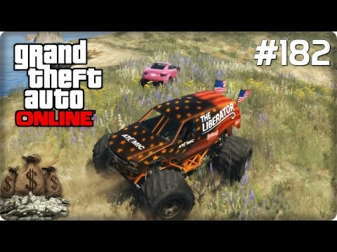 how to get the liberator in gta 5 online