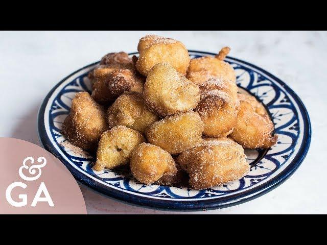PAPAJOTES dulces de Jaén  Barrigas de vieja   Papa viejos receta tradicional