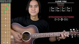 I Love You Guitar Cover Billie Eilish 🎸 |Tabs + Fingerpicking + Strumming + Chords|