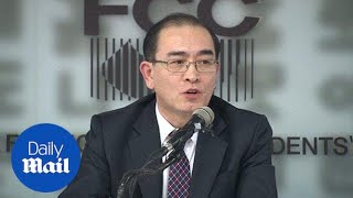 Thae Yong Ho calls North Koreans to rise up against Kim Jong-Un's regime - Daily Mail