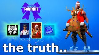 """the TRUTH About the """"FINAL 14 DAYS OF FORTNITE REWARD"""" - FREE SECRET LAST 14 DAYS OF FORTNITE REWARD"""