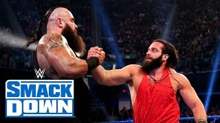Braun Strowman backs up Elias' musical taunts: SmackDown, Jan. 17, 2020