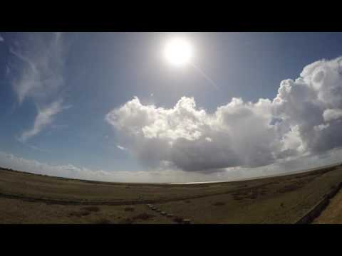 Gibraltar Point National Nature Reserve Time Lapse HD
