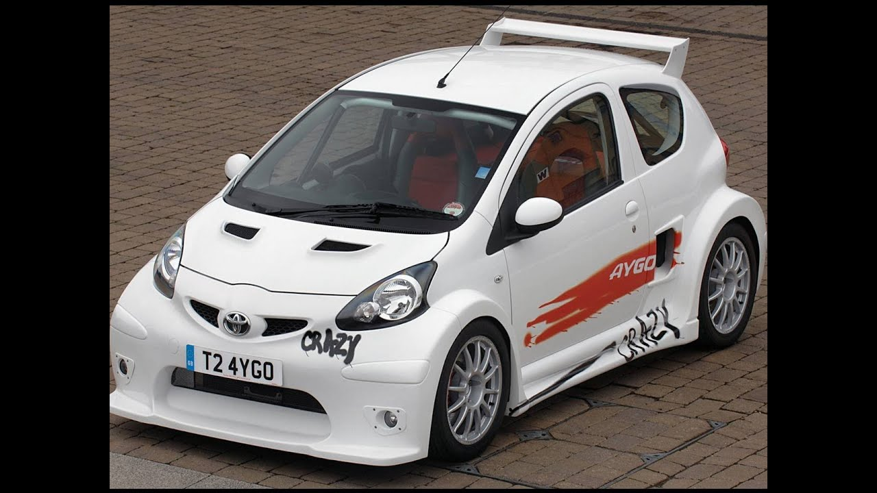 tuning toyota aygo youtube. Black Bedroom Furniture Sets. Home Design Ideas
