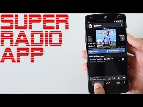 Super Radio App für Android und iOS