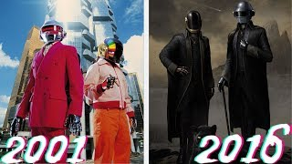 Evolution of Daft Punk costumes