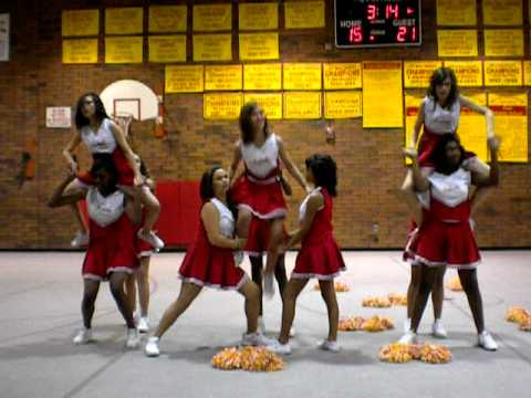 Fees Middle School Cheerleaders 2010 ....Spririt Line Coach Irene Larios